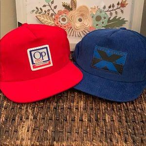 Pair of Vintage surfing hat by OP NWT